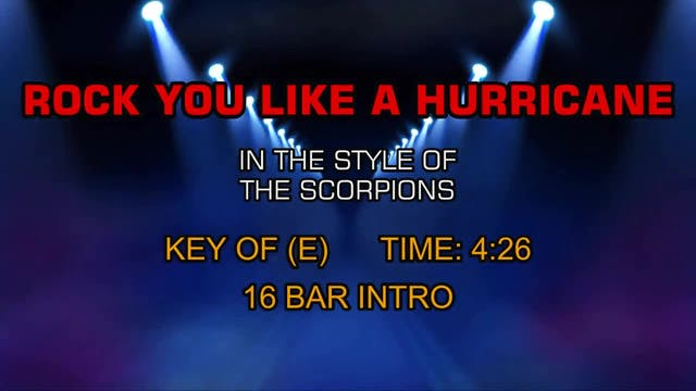 Scorpions, The - Rock You Like A Hurr...