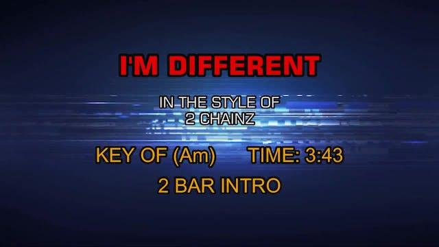2 Chainz - I'm Different (Clean)