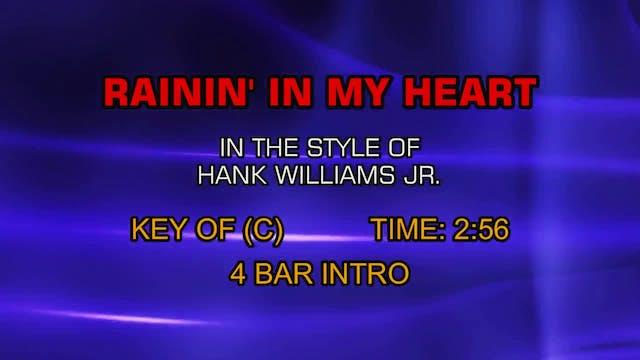 Hank Williams Jr. - Rainin' In My Heart