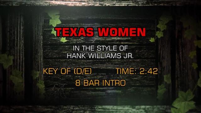 Hank Williams Jr. & Various Artists - Texas Women