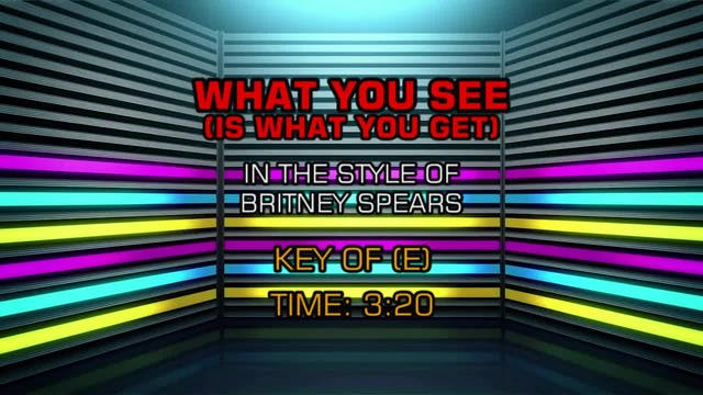 Britney Spears - What U See (Is What ...