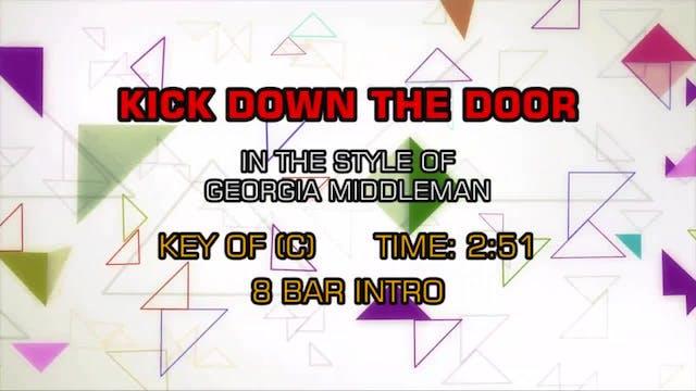 Georgia Middleman - Kick Down The Door