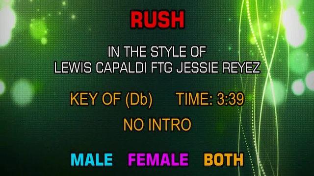 Lewis Capaldi ftg Jessie Reyez - Rush