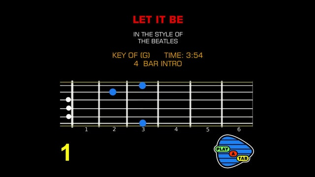 The Beatles - Let It Be - Play A Tab