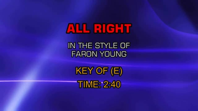 Faron Young - All Right