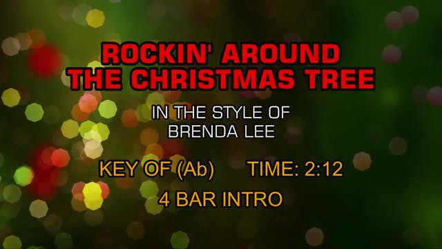 Brenda Lee - Rocking Around The Chris...