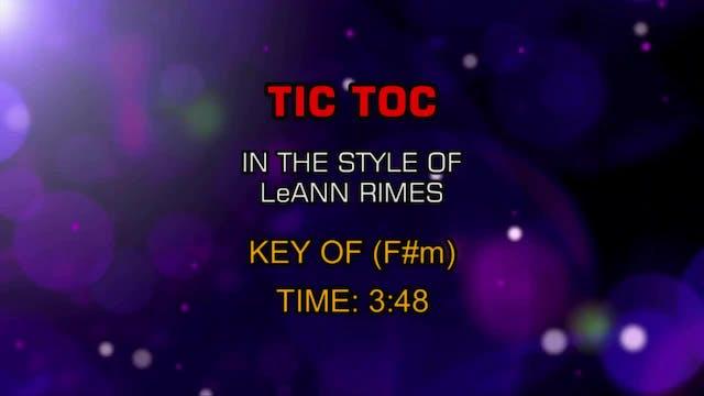 LeAnn Rimes - Tic Toc