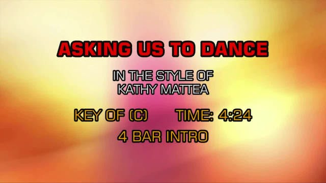 Kathy Mattea - Asking Us To Dance
