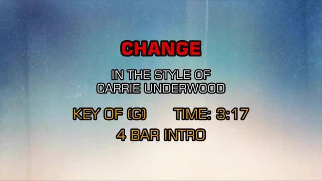 Carrie Underwood - Change
