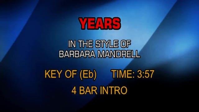 Barbara Mandrell - Years