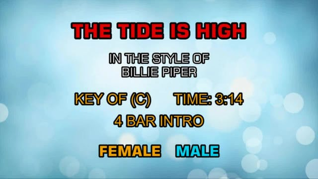 Billie Piper - Tide Is High, The