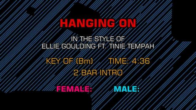 Ellie Goulding feat. Tinie Tempah - Hanging On