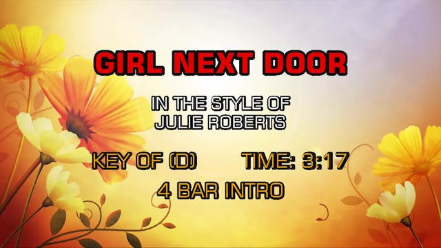 Julie Roberts - Girl Next Door