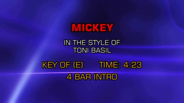 Toni Basil - Mickey