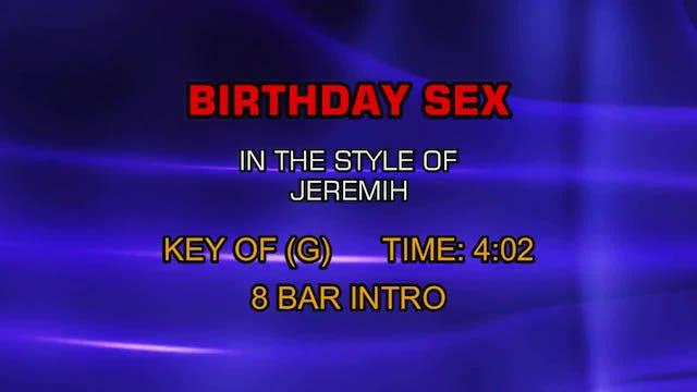 Jeremih - Birthday Sex