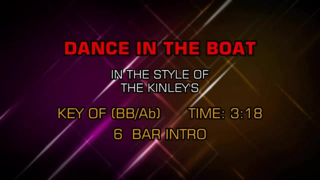 Kinleys, The - Dance In The Boat