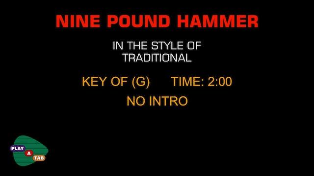 Standard - Nine Pound Hammer - Play A Tab