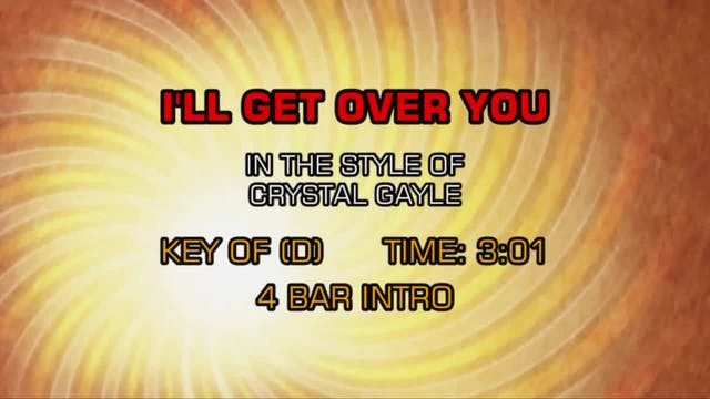 Crystal Gayle - I'll Get Over You