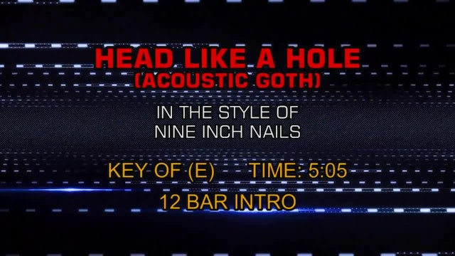 Nine Inch Nails - Head Like A Hole (Acoustic Goth)