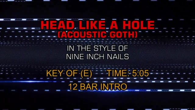 Nine Inch Nails - Head Like A Hole (A...