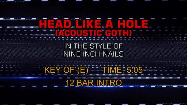 Nine Inch Nails - Head Like A Hole (Acoustic Goth)