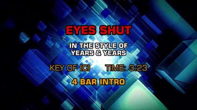 Years and Years - Eyes Shut