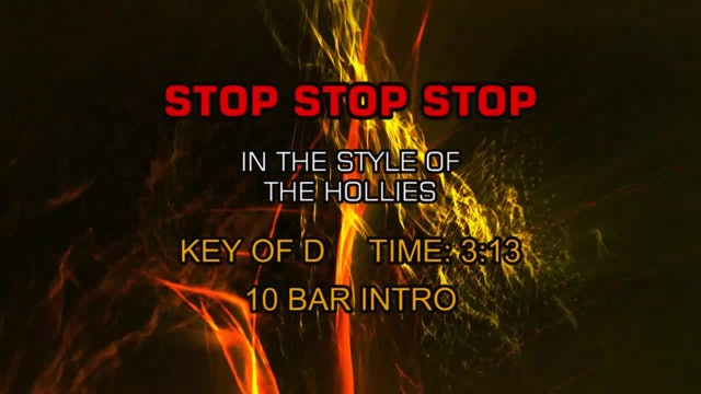Hollies, The - Stop Stop Stop