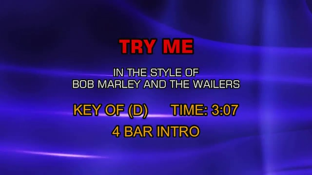 Bob Marley And The Wailers - Try Me