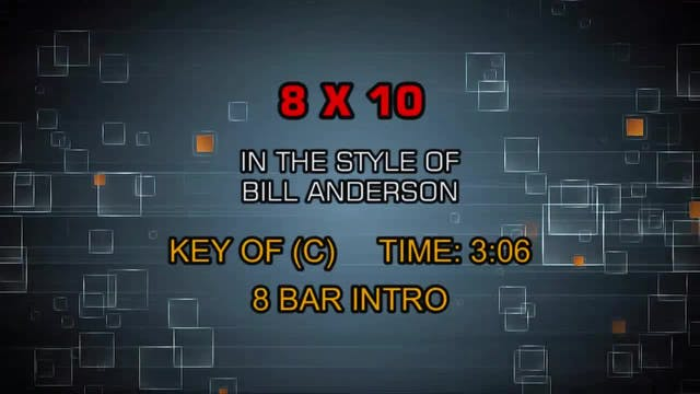 Bill Anderson - 8 X 10