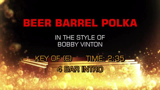 Bobby Vinton - Beer Barrel Polka