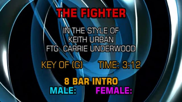 Keith Urban featuring Carrie Underwood - The Fighter