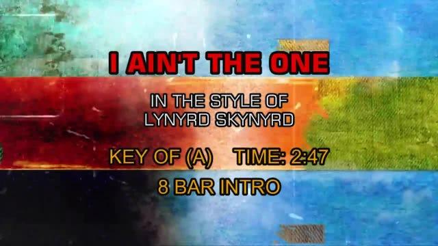 Lynyrd Skynyrd - I Ain't The One