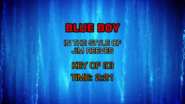 Jim Reeves - Blue Boy