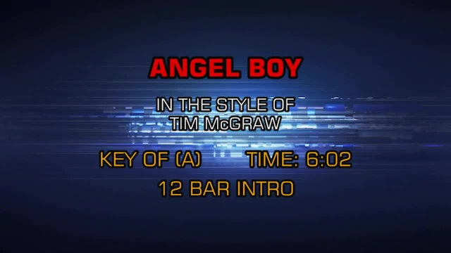 Tim McGraw - Angel Boy