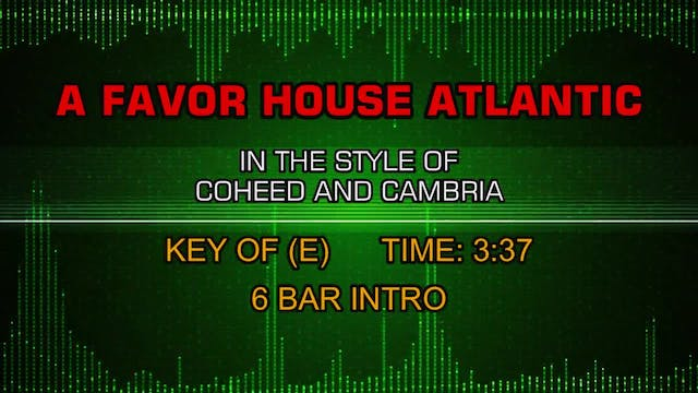 Coheed And Cambria - A Favor House At...