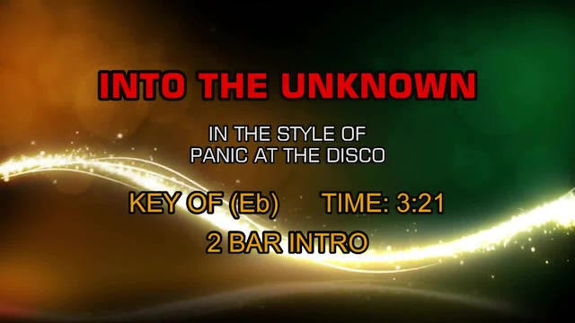 Panic At The Disco - Into The Unknown