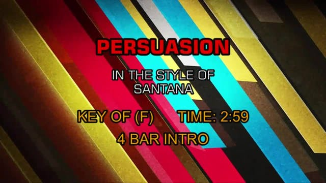 Persuasion - Santana