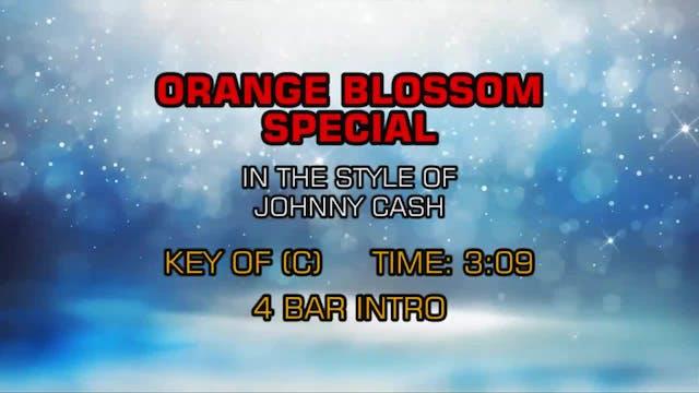 Johnny Cash - Orange Blossom Special