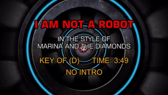 Marina and the Diamonds - I Am Not A Robot