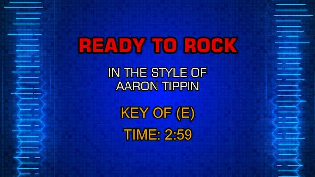 Aaron Tippin - Ready To Rock