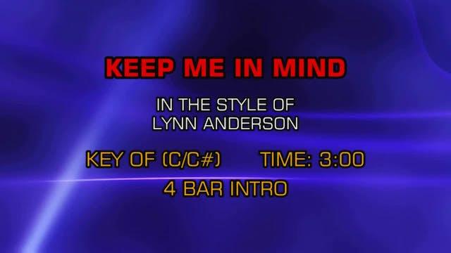 Lynn Anderson - Keep Me In Mind