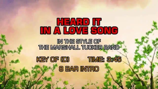 Marshall Tucker Band - Heard It In A ...