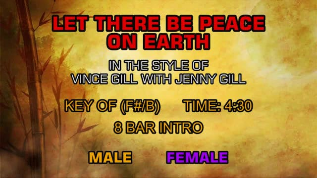 Vince Gill with Jenny Gill - Let Ther...