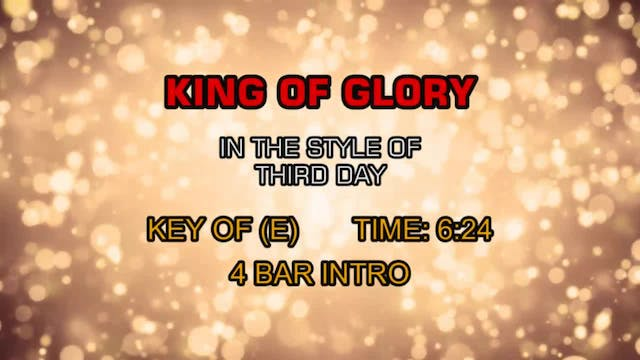 Third Day - King Of Glory