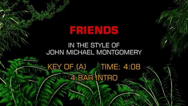 John Michael Montgomery - Friends