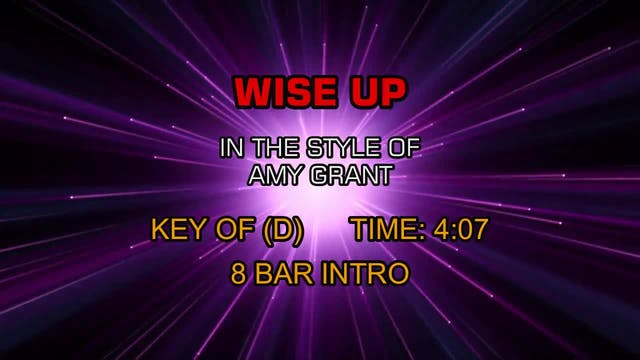 Amy Grant - Wise Up