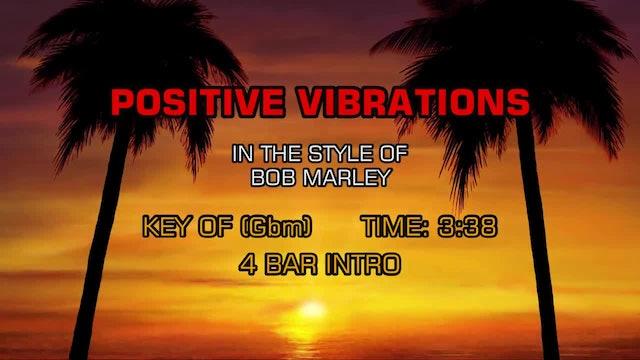 Bob Marley - Positive Vibration