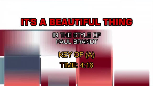 Paul Brandt - It's A Beautiful Thing