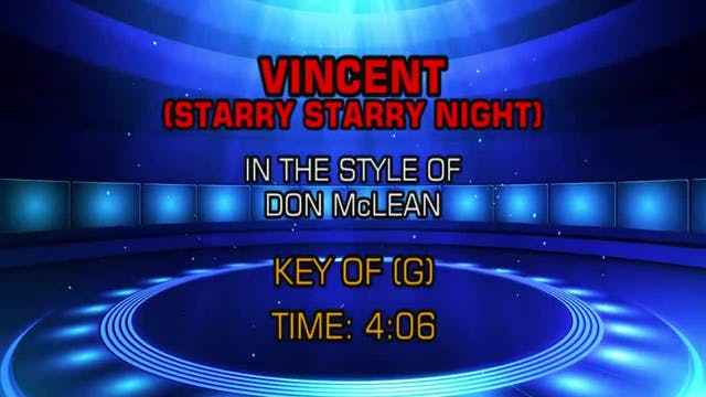Don McLean - Vincent (Starry Starry N...