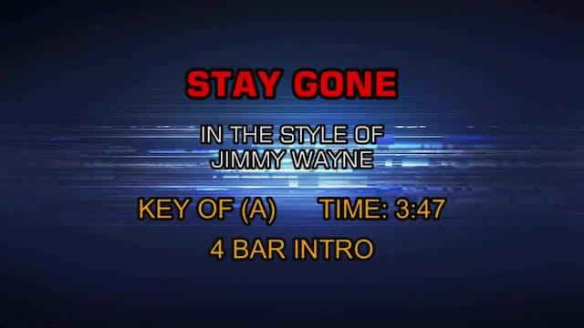 Jimmy Wayne - Stay Gone